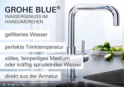 GROHE red & blue